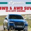 Car of the Year COTY 2016 OzRoamer Awards